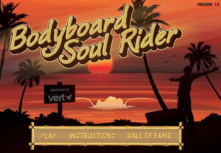 Bodyboard Soul Rider