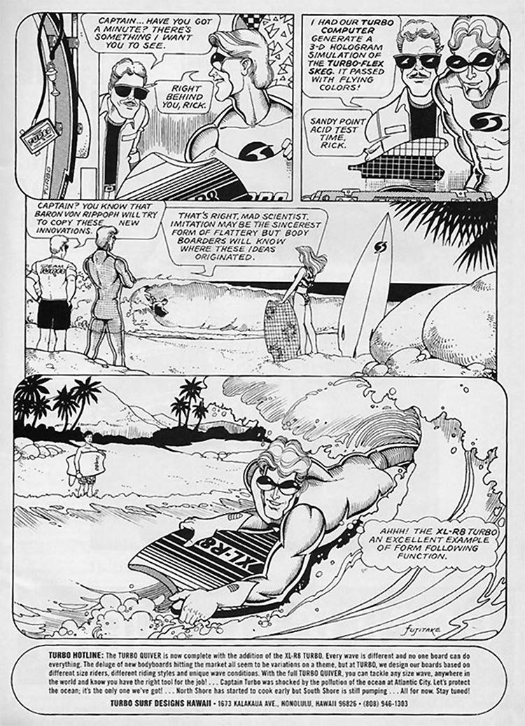As Aventuras do Capitão Turbo (1987)    Ilustração: Fujitake