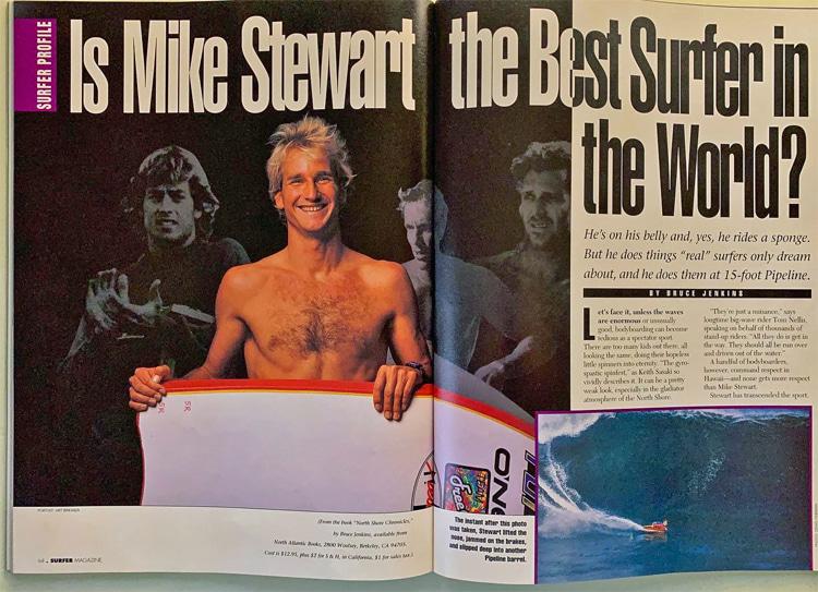 Surfer Magazine: Mike Stewart é o melhor surfista do mundo?