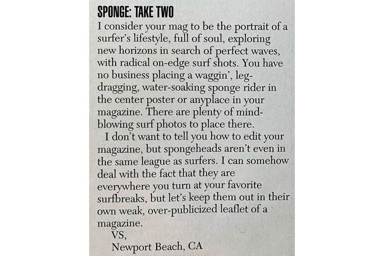 Surfer Magazine: o pôster de Mike Stewart gerou muitos e-mails de ódio