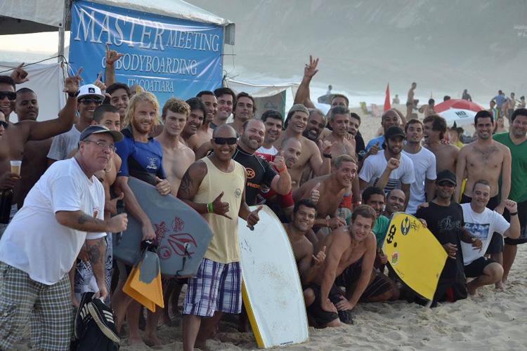Itacoatiara, 2012: Bardiers brasileiros celebram encontro dos mestres |  Foto: Rodrigo Monteiro