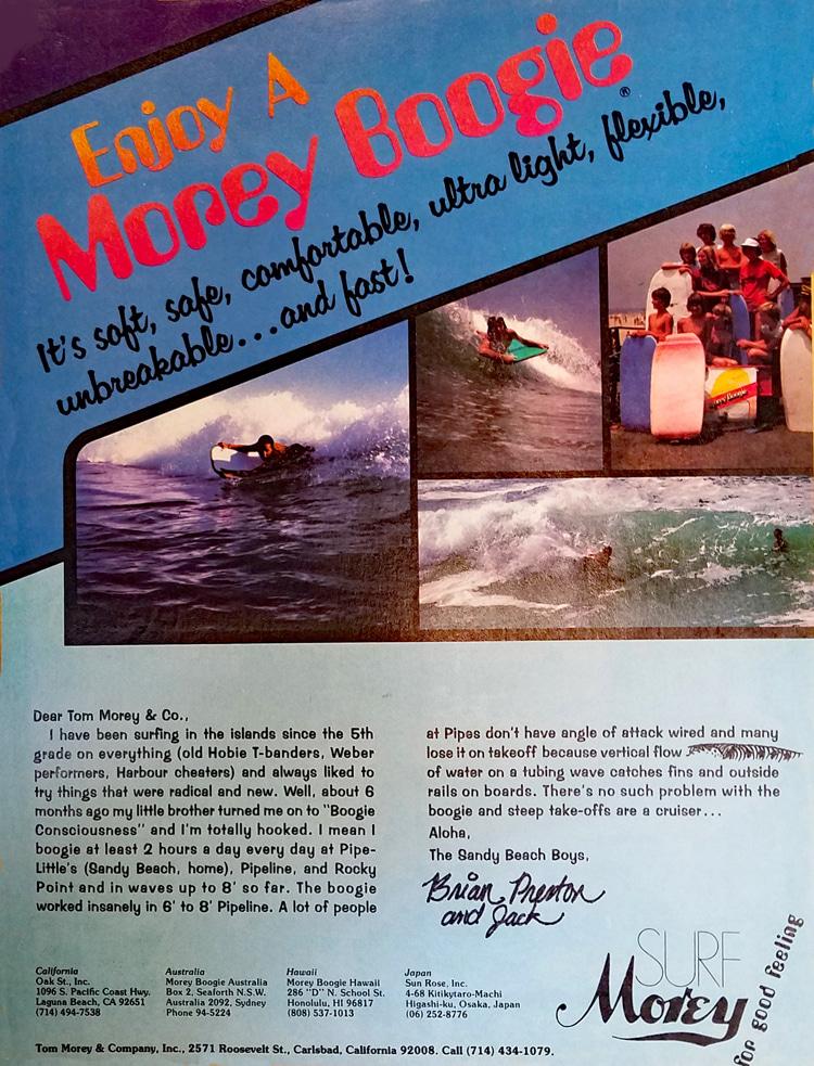 Divirta-se com o Morey Boogie: Anúncio em primeira cor    Ver: Arquivo Libuse