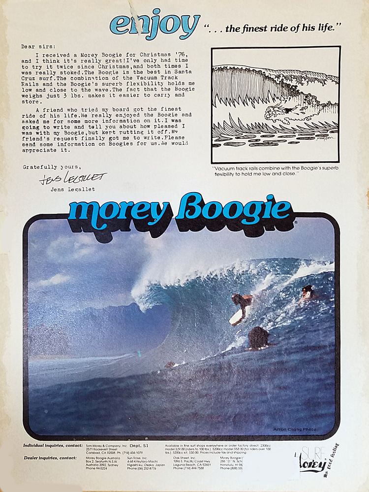 Morey Boogie: Anúncios em revistas chegaram ao coração dos esportes    Ver: Arquivo Libuse
