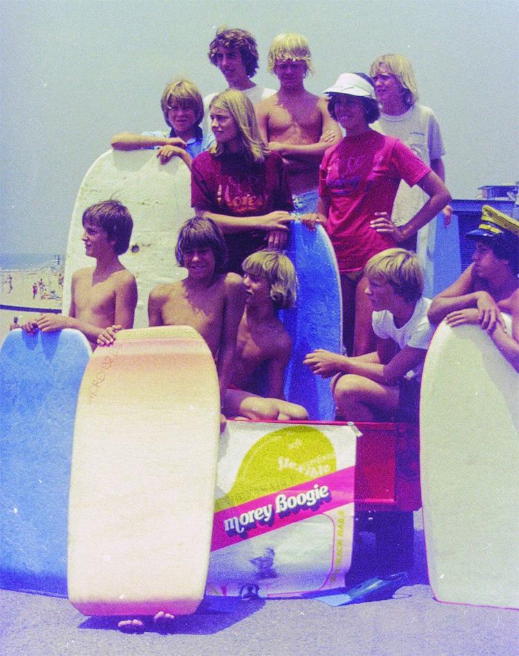 Morey Boogie: as primeiras fotos promocionais da marca    Foto: Craig Libuse / História do bodyboard