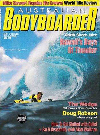 Revista australiana de bodyboard