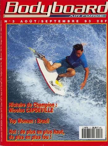 Revista Bodyboard da Força Aérea