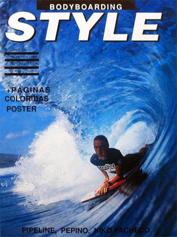 Revista de estilo bodyboard