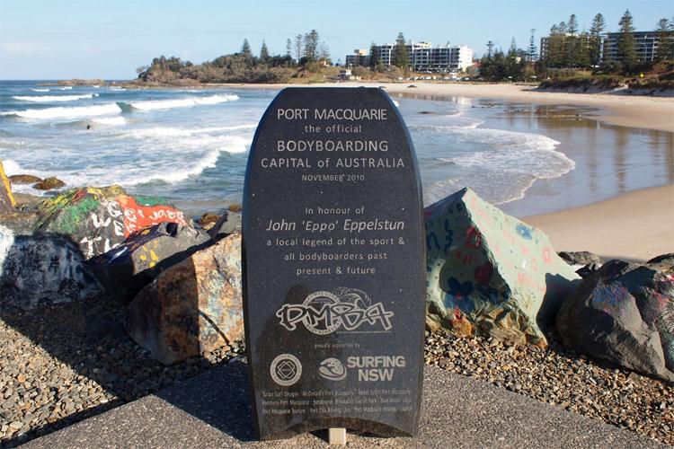 Port Macquarie: a capital oficial do bodyboard da Austrália |  Foto: Carlos Ocampos