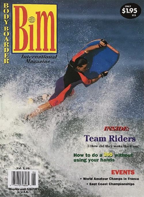 Bodyboarder International Magazine (BIM): uma revista de boogie fundada por Patti Serrano