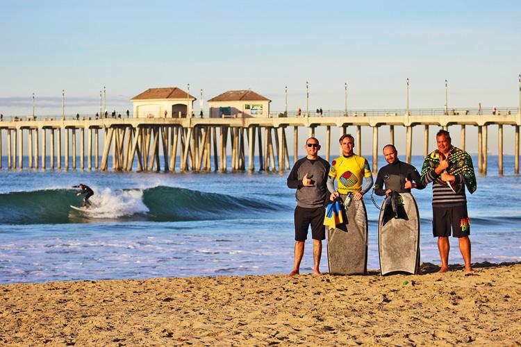 Rob Barber: compartilha sua fórmula de coaching de bodyboard na Califórnia |  Foto: arquivo de cabeleireiro