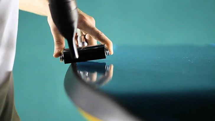 Termoplastificação de bodyboard: o acabamento impermeável ao toque |  Sempre: orgulhoso