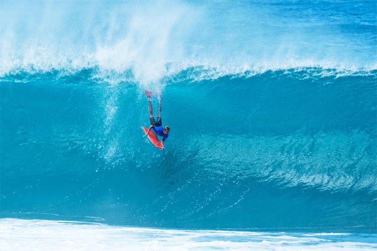 Pipeline: o bodyboard ainda vive na joia havaiana |  Foto: APB