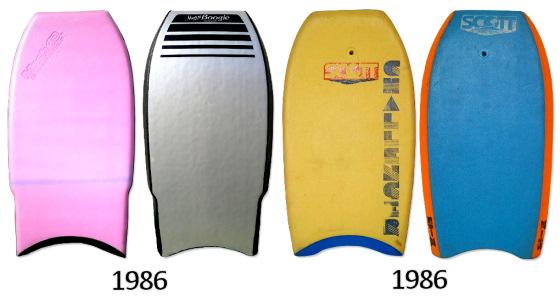 Bodyboard vintage: a coleção Rob Beaton