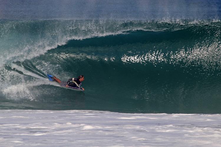 Juan de Dios: Encontre a saída para Playa Zicatela |  Foto: Miguel Diaz / lado oeste