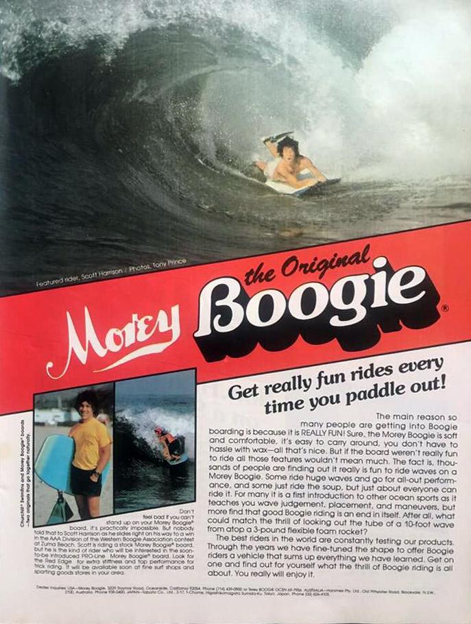 The Original Morey Boggie: The 1980 Commercial Commercial