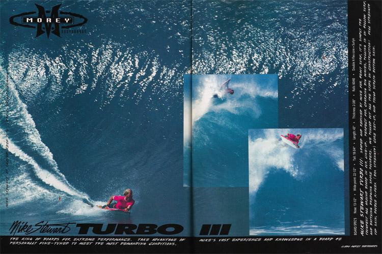 O Mike Stewart Turbo III: o anúncio de 1994