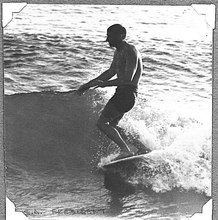 Tom Morey: Ainda é surfista    Foto: Arquivos de Tom Morey