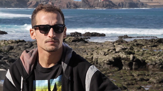 Amaury Lavernhe: Meu Deus, ele é o campeão mundial de bodyboard!