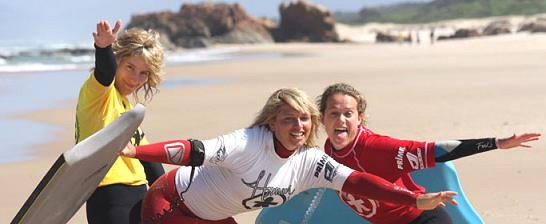 Associação de bodyboard feminino