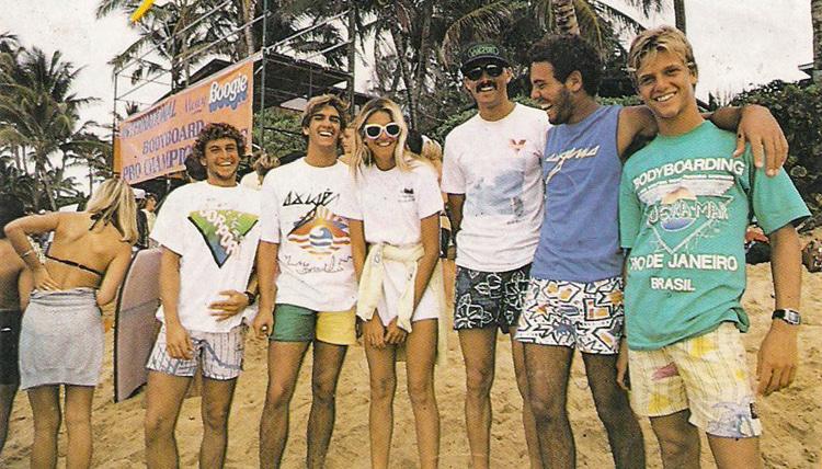 Morey Boogie Professional International Championships 1986: Seleção brasileira aproveita Havaí |  Foto: Rodrigo Monteiro