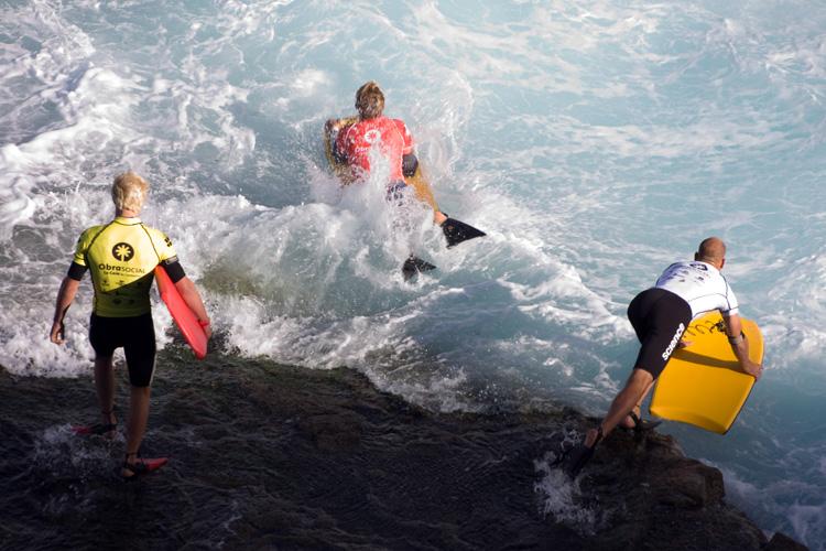 Bodyboard: durável, mas não 100% à prova d'água Foto: Creative Commons