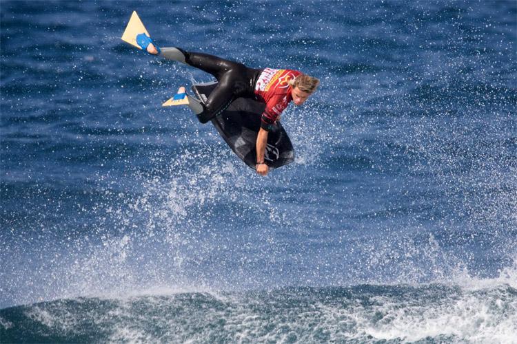 El Frontón: Canary Wave oferece muitas rampas para o ar Foto: Jesus de Leon