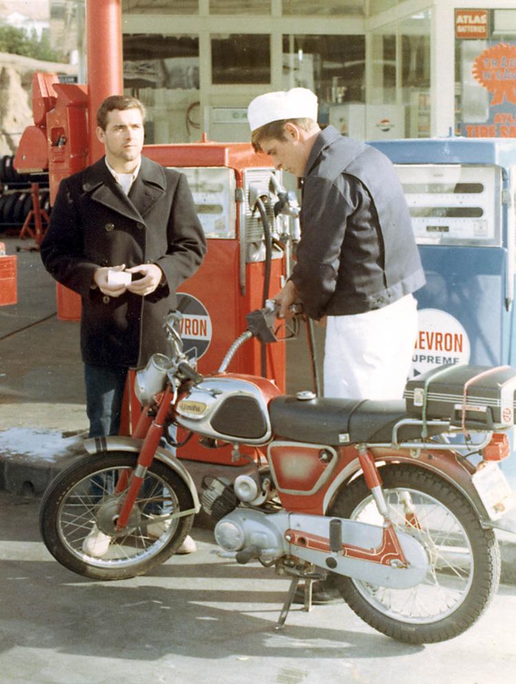 Craig Libuse (à esquerda), 1967: os anos da UCLA    Foto: Arquivos Libuse