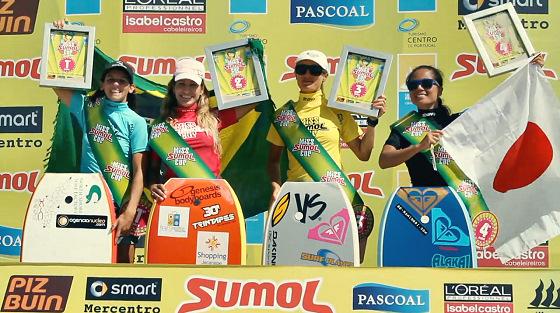 Miss Sumol Cup: Karla cercada de amigos / rivais