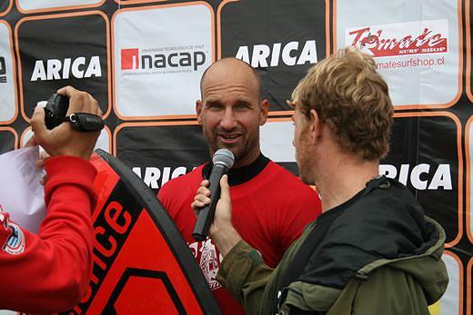 Mike Stewart vence o Desafio Arica Chileno de 2009