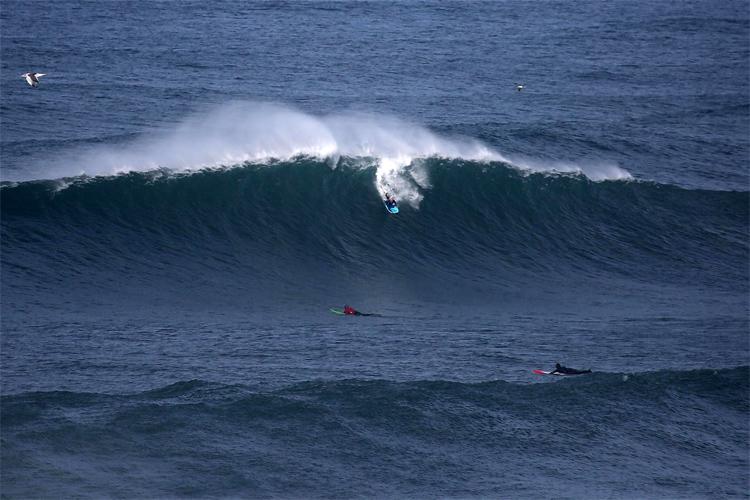 Mike Stewart: Não queria um rack de jet ski na Praia do Norte |  Foto: Praia do Norte