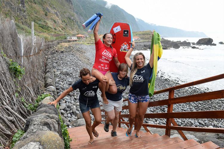 Neymara Carvalho: campeã da experiência feminina no bodyboard 2016 |  Foto: BGE