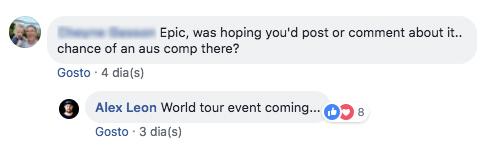 Alex Leon: O CEO da APB disse que haverá um evento do World Tour em Surf Lakes