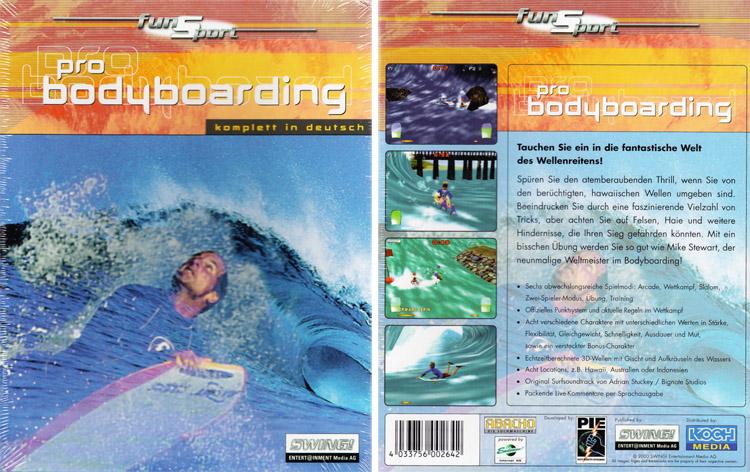 Bodyboard profissional de Mike Stewart