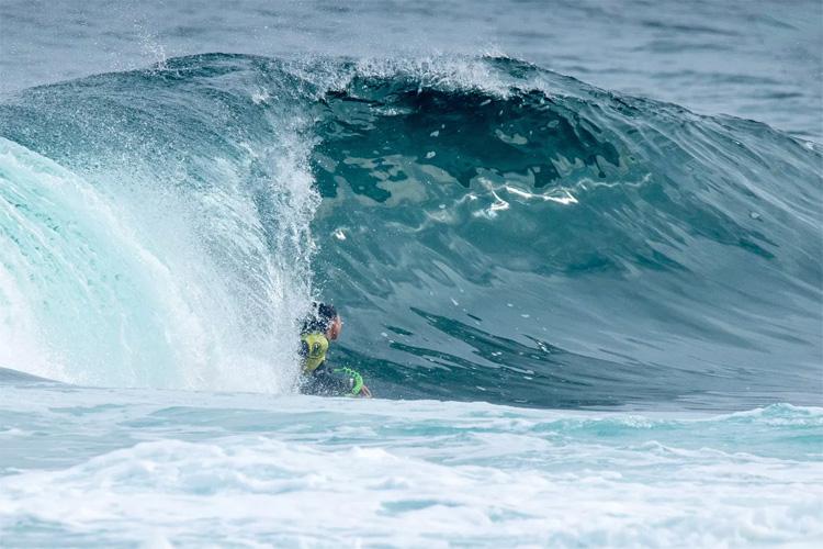 Ayaka Suzuki: O japonês conquistou sua segunda vitória consecutiva em Antofagasta |  Foto: Jimenez / APB