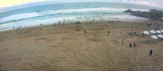 Praia de Margate: paraíso sul-africano do bodyboard ''