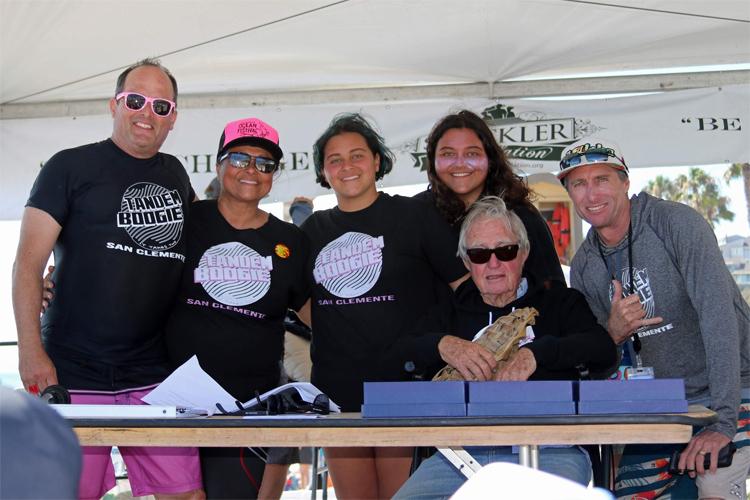 Tom Morey: Adorei o concurso de surf duplo Foto: San Clemente Ocean Festival