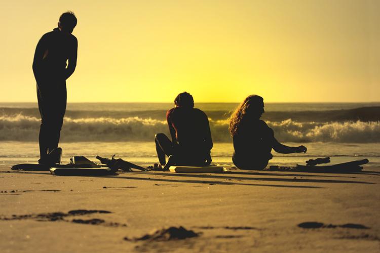 Barbatanas: Os bodyboarders precisam deles para pegar as ondas. Foto: Shutterstock