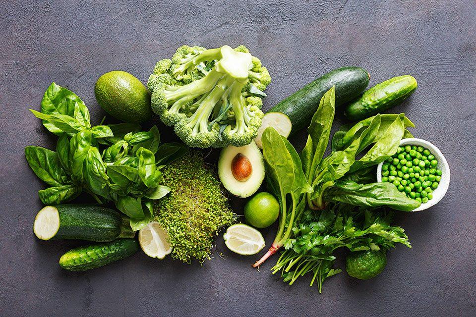 Proteínas vegetais verdes