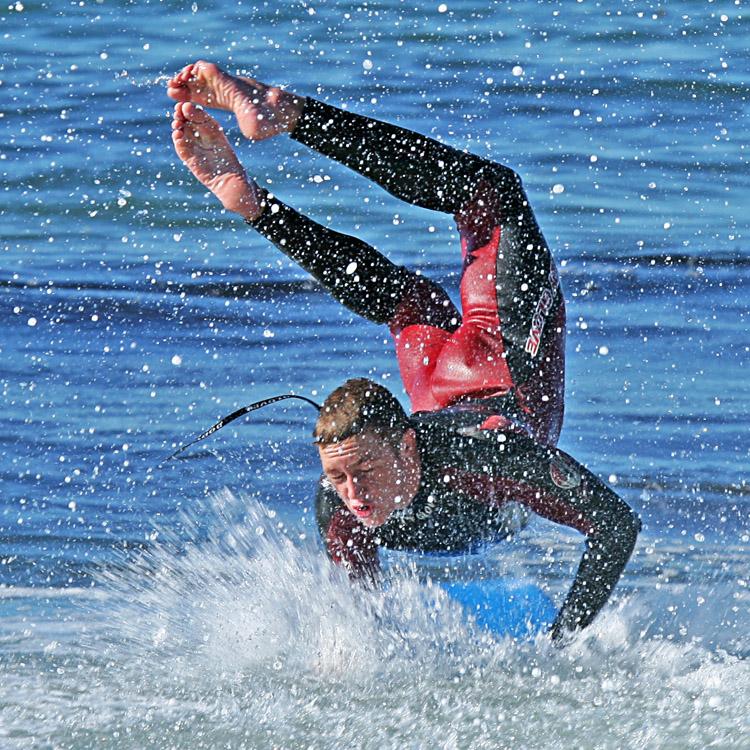 Bodyboard: com pés de pato você pode pegar a onda, dirigir e dirigir o bodyboard Foto: Nyman / Creative Commons