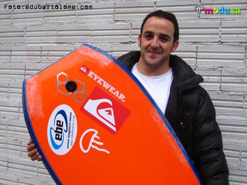 david perez assinou com a science bodyboard de mike stewart