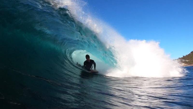 geoff swan lidera o exercito de bodyboard na tasmania