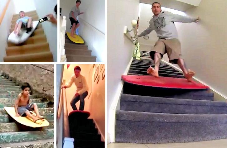 staircasebodyboarding